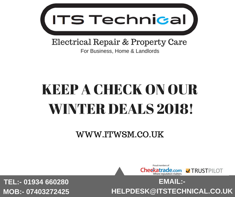 Checkout ITS Technical's Winter deals!!